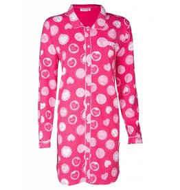 SWEET HEARTS SLEEPSHIRT (BUTTONS)