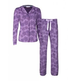 PURPLE LACE PYJAMASET