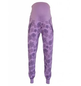UMSTANDS-PYJAMAHOSE PURPLE LACE