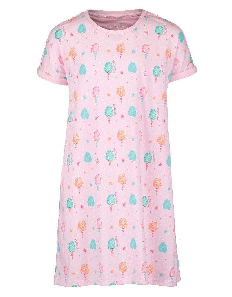 Short Sleeve Dress Cotton Candy