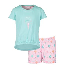 Pyjama Short Set Cotton Candy