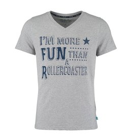 Pyjama T-Shirt Lt Grey