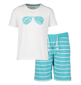 Pyjama Short Set Stripes