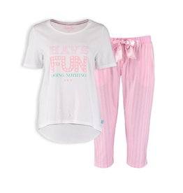 Pyjama Set Sweet Stripes 3/4