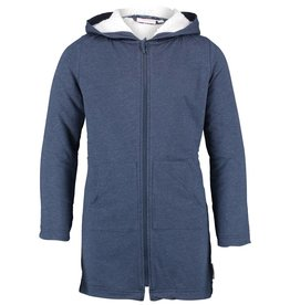 DRESS BLUE MELANGE BATHROBE (UNISEX)