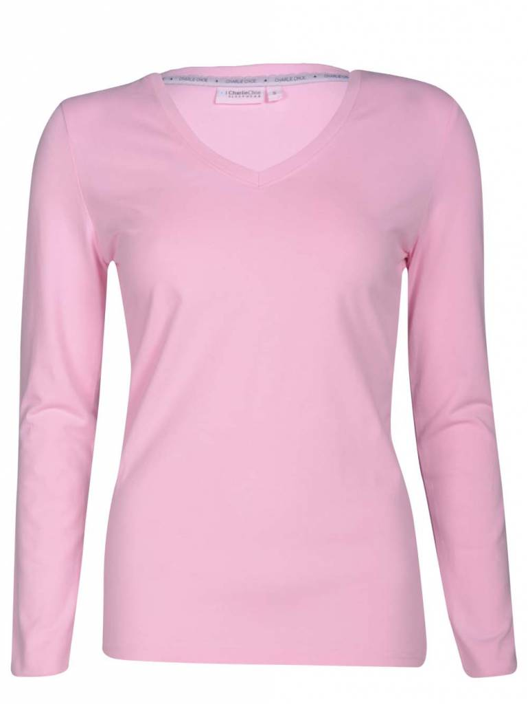 Long Sleeve Pink Lady