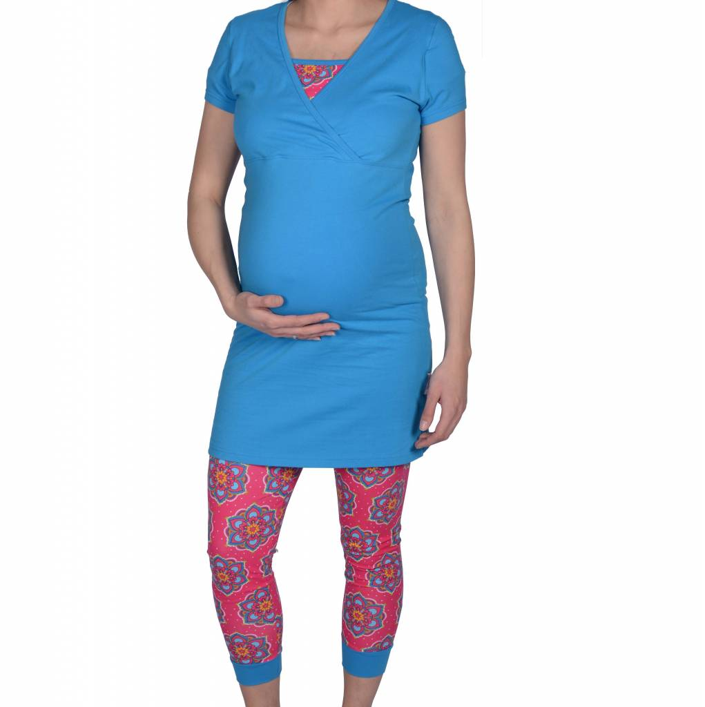GIPSY FLOWER PREGNANCY TUNIC + LEGGING