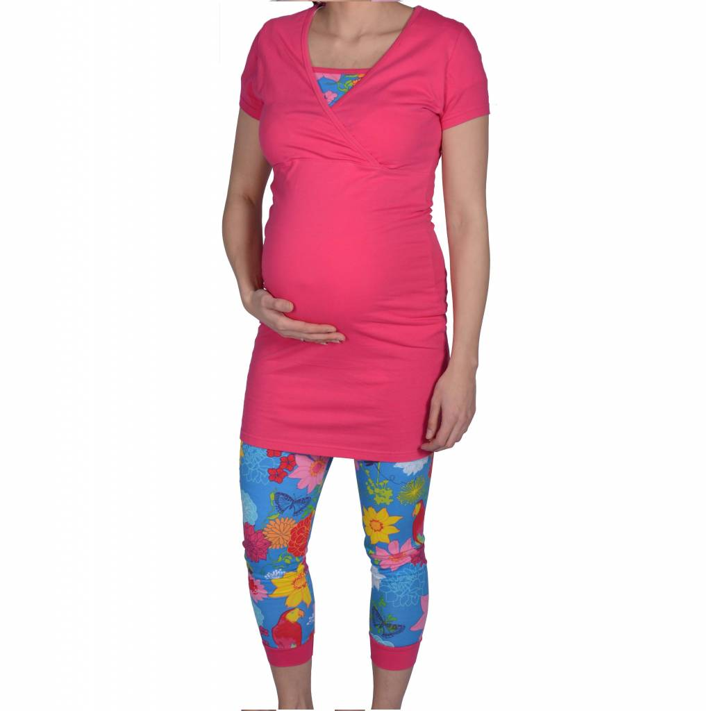 CLUB TROPICANA PREGNANCY TUNIC + LEGGING