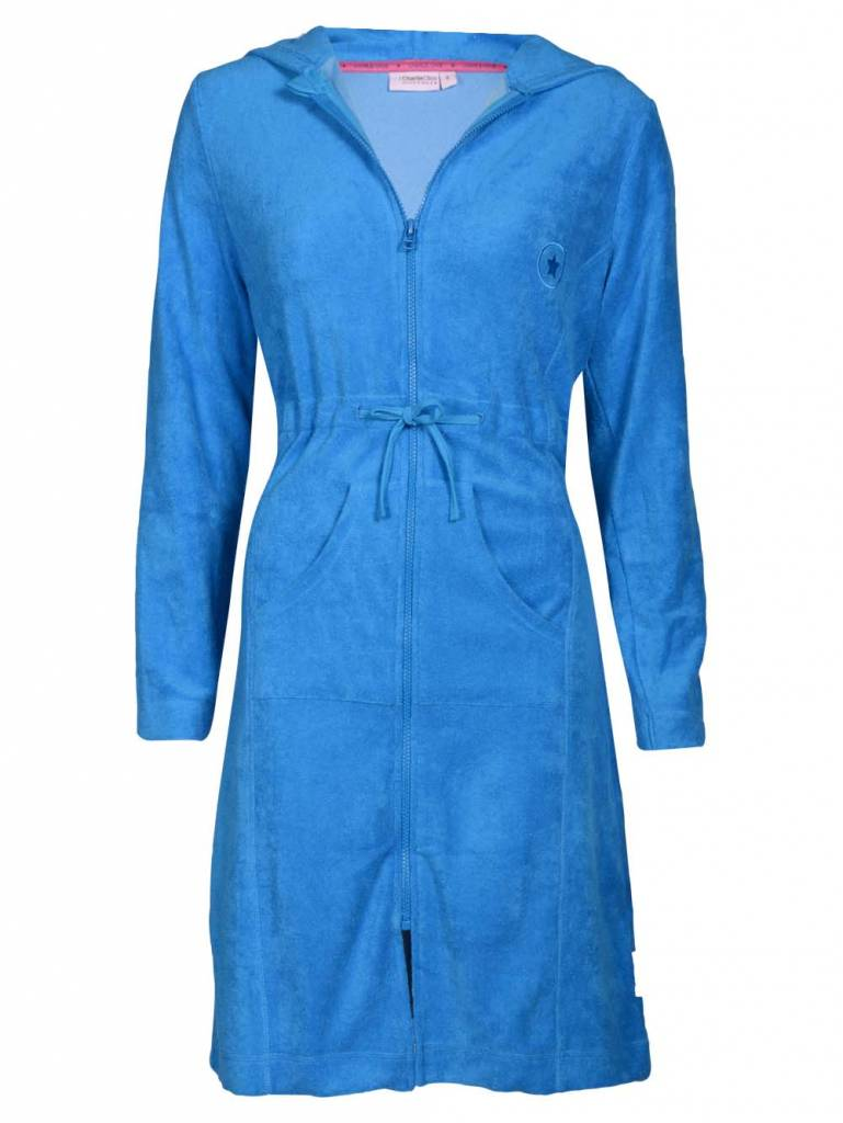 Bathrobe Latin Blue