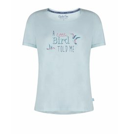 Pyjama T-Shirt Little Bird Blue Glow