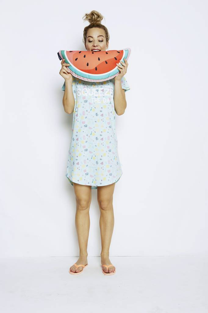 Ladies big shirt Squeeze Fruits | Charlie Choe