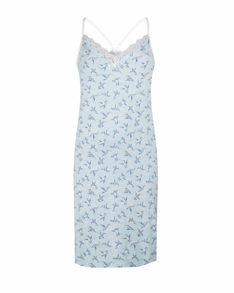 Dames slipdress Blue Hummingbird | Charlie Choe