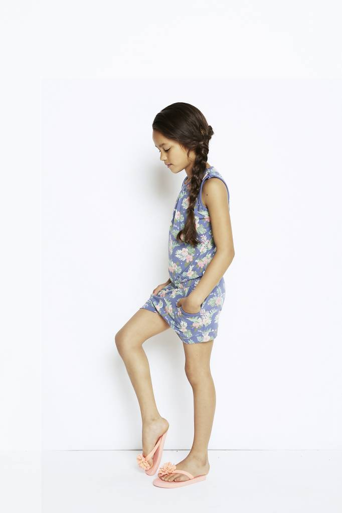 Girls jumpsuit Wild Flowerchild | Charlie Choe | 41Y-27875