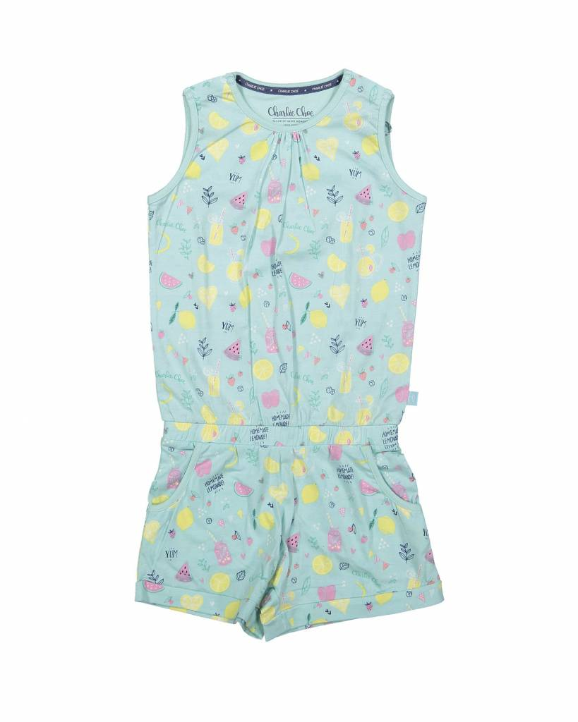 Girls jumpsuit Summer Fruits | Charlie Choe