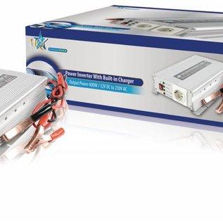 HQ Gemodificeerde sinusomvormer / Acculader 600W