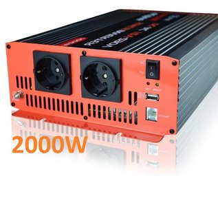 Active Zuivere sinusomvormer 2000W