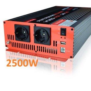 Active Zuivere sinusomvormer 2500W