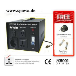 ReVolta Verhuistrafo 230-115V, 2400W