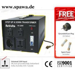 ReVolta Netspanningsomvormer 230-115V, 2400W