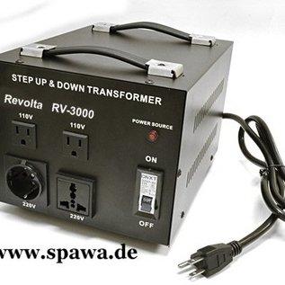 ReVolta Netspanningsomvormer 115 - 230V, 2400W