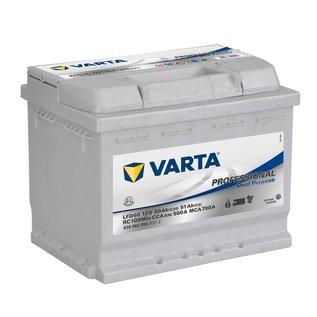 Varta / Bosch Onderhoudsvrije deep cycle accu Varta-Bosch 60Ah