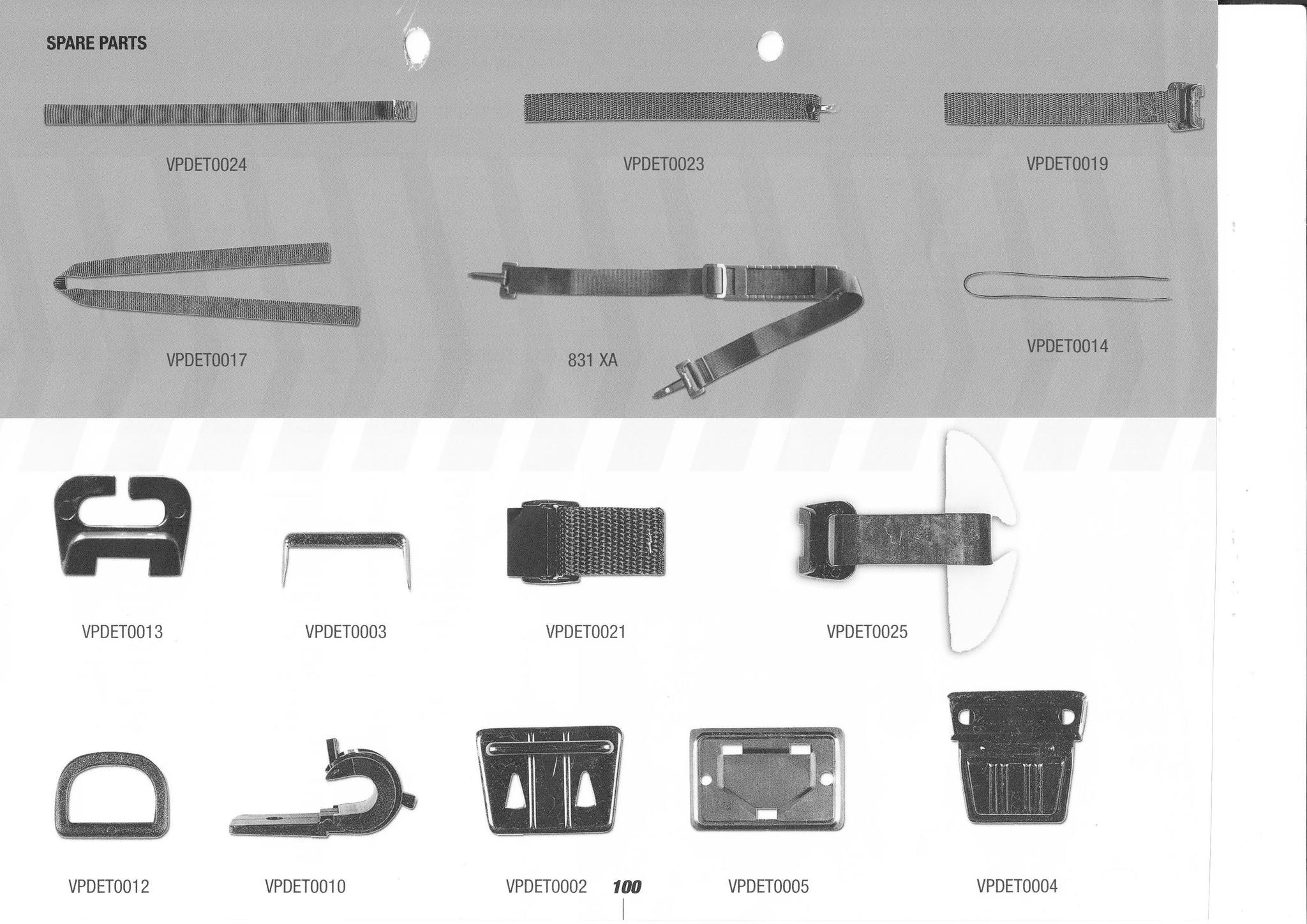 Bagster parts
