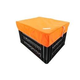 Hooodie Box M Oranje voor Kerri Fietskrat