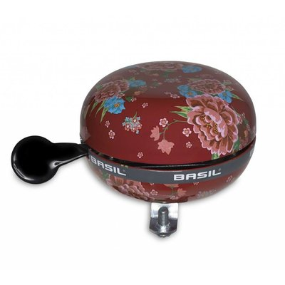 Basil Fietsbel Big Bell Bloom Scarlet Red