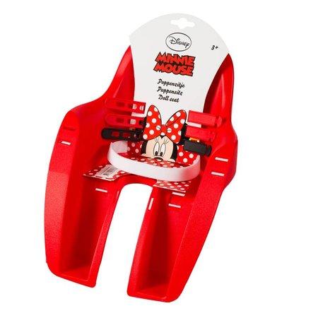 Widek Poppenzitje Minnie Mouse Rood voor op de fiets