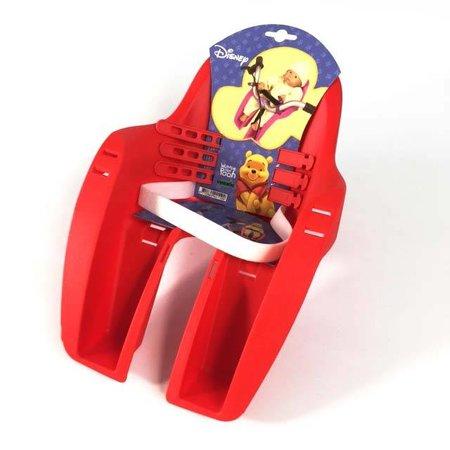Widek Poppenzitje Winnie the Pooh Rood voor op de fiets