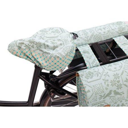 Basil Zadeldekje Bohème Jade - waterafstotende en hippe zadelhoes fiets