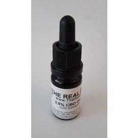 The Real Spirit 10ml CBD olie Raw 2,5%