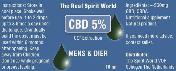CBD 5% RAW