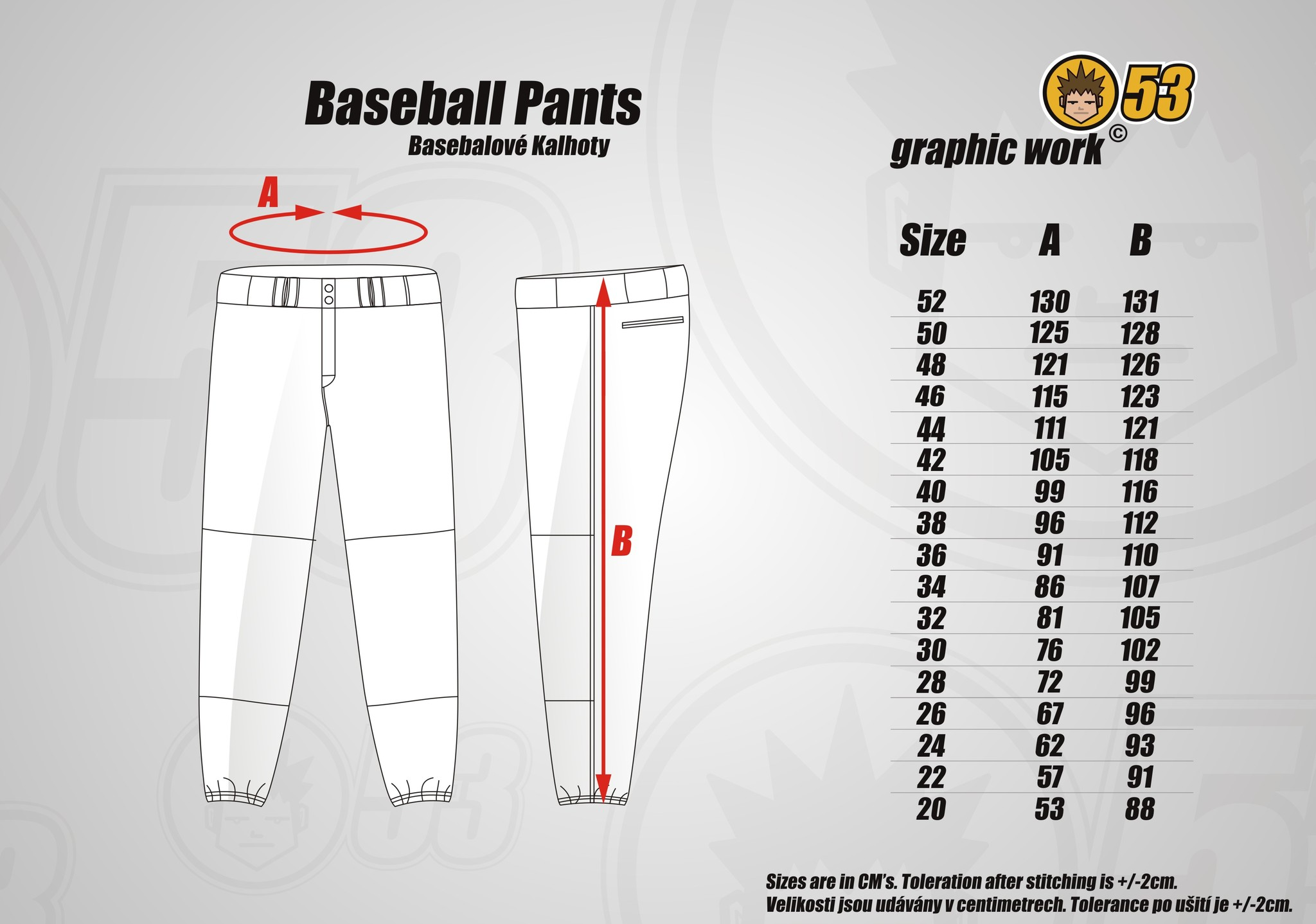 Jersey53 baseball pant regular score66 baseball