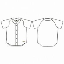 Jersey53 Baseball Jersey - Raglan Full Button