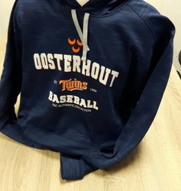 Majestic Oosterhout Twins hooded tech fleece