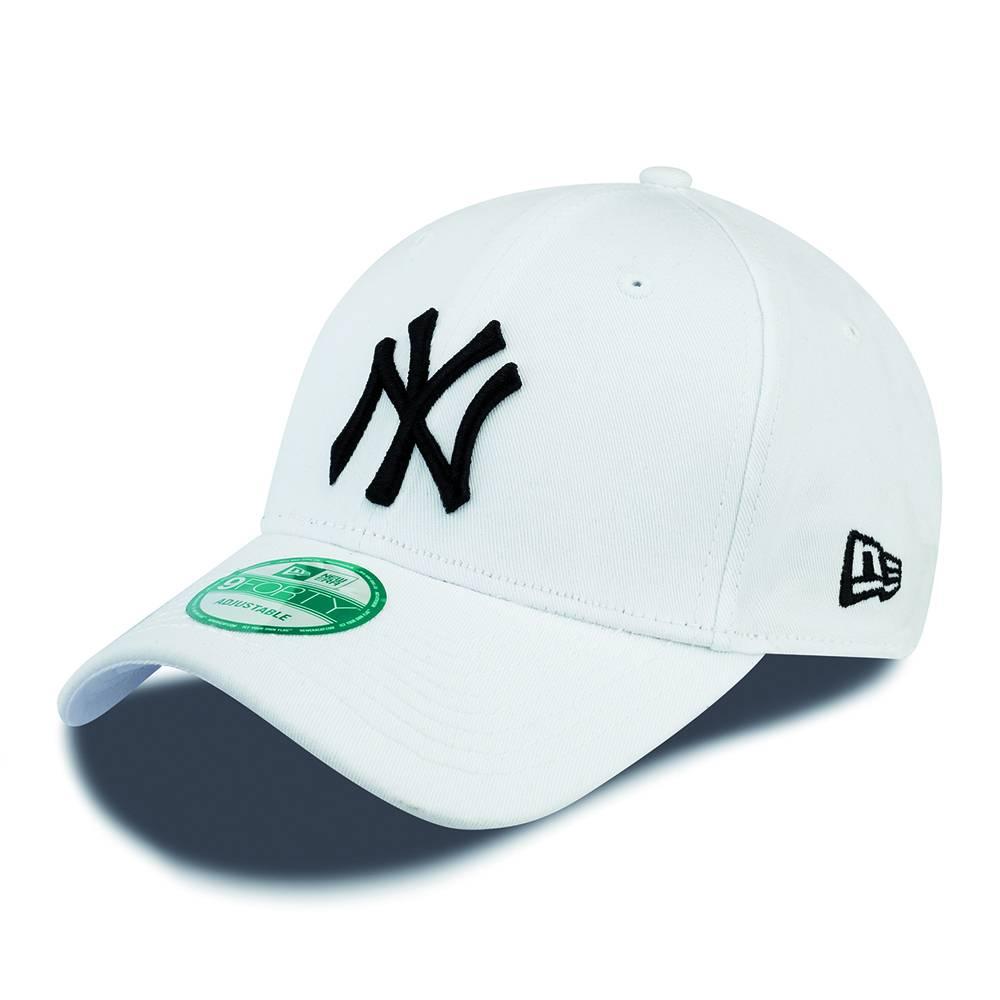 New Era NY Yankees 940 Basic White   Black - Score66 Baseball 382f01b8e89