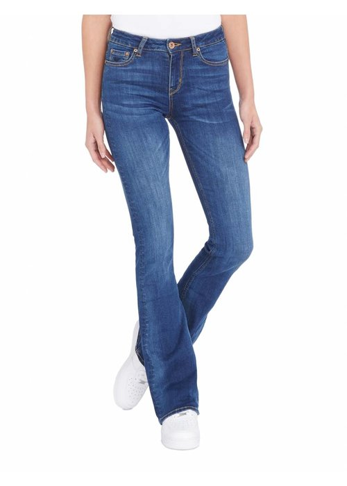 PUREWHITE THE SOUL FLAIR JEANS BLUE