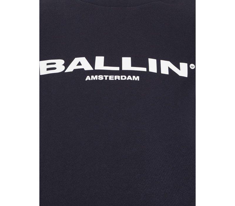 BALLIN ORIGINAL MEN SWEATER NAVY