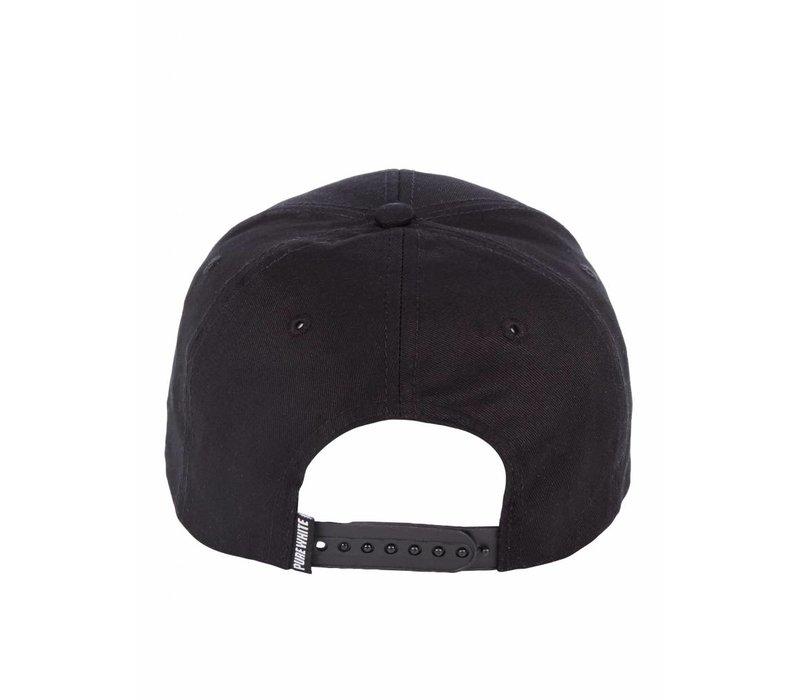 PUREWHITE LOGO CAP