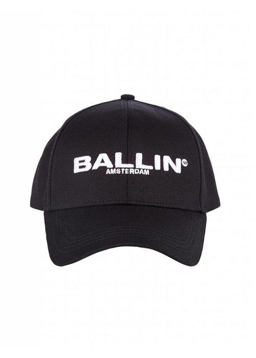 BALLIN AMSTERDAM LOGO CAP BLACK
