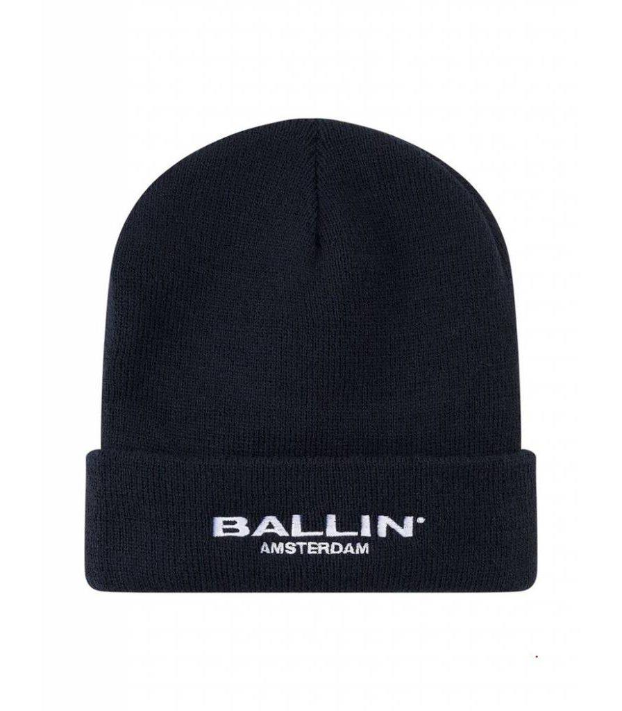 BALLIN AMSTERDAM BEANIE  BLACK