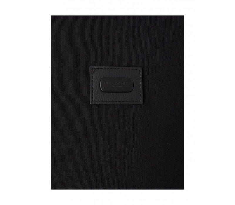 PUREWHITE ESSENTIAL V-NECK BLACK
