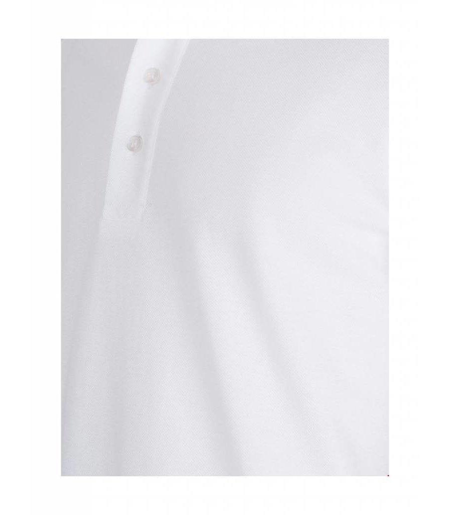PUREWHITE CLASSIC PIQUE POLO WHITE