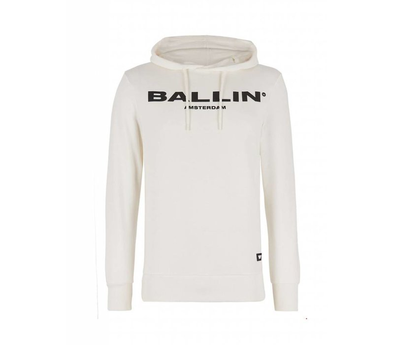 BALLIN LOGO HOODIE  OFF-WHITE