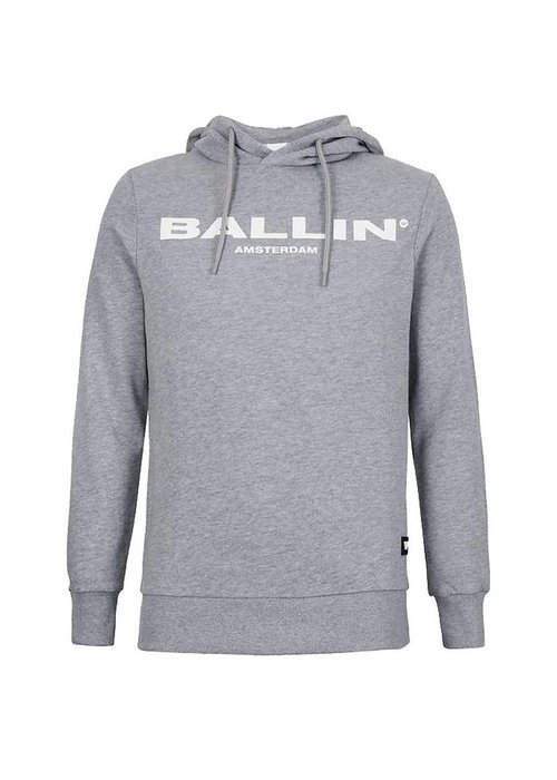 BALLIN ORIGINAL MEN HOODIE GREY