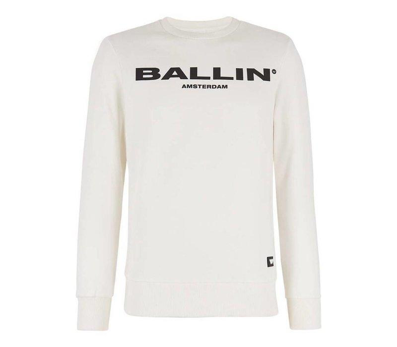 BALLIN ORIGINAL MEN SWEATER OFF WHITE