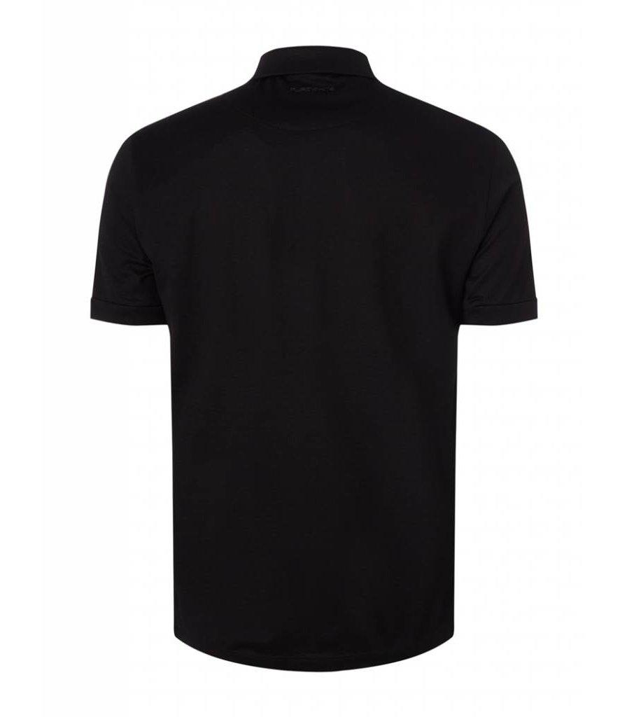 PUREWHITE CLASSIC POLO BLACK