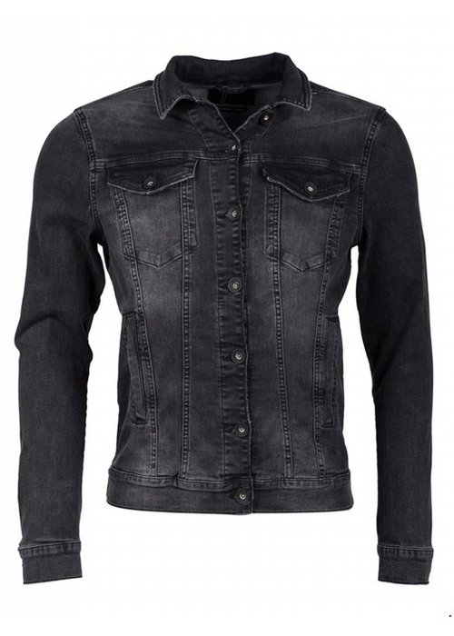 PUREWHITE DENIM JACKET BLACK
