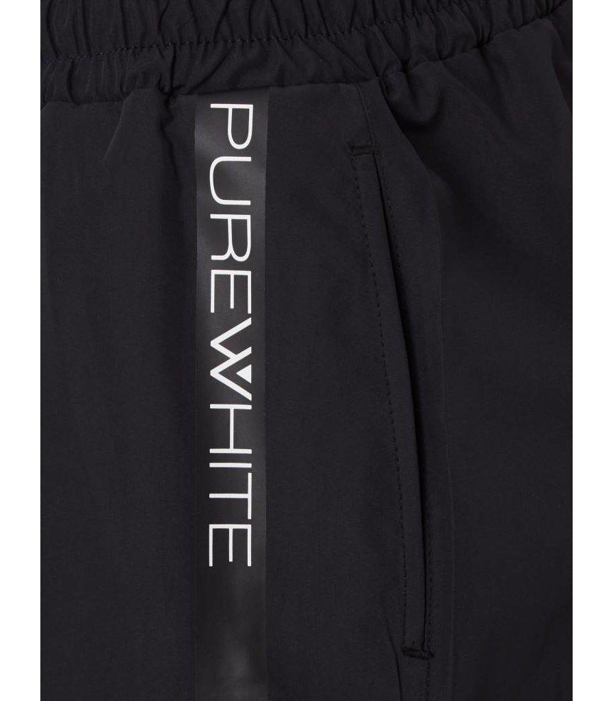PUREWHITE SWIM SHORT BLACK